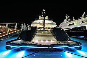 Tekne ve Yat Fiber Optik Aydınlatma